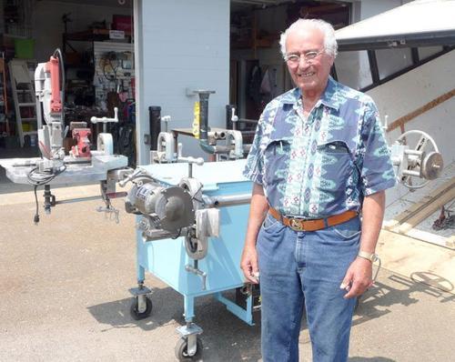 Sequim Gazette Artilce Roger Maes, Inventor